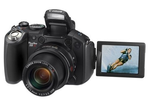 Minha nova Canon S5 IS